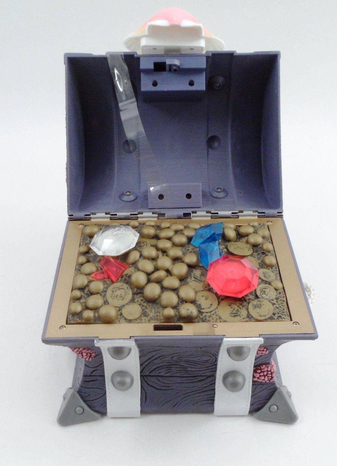 NWOB 2001 ParentBanc Talking Little Mermaid Hidden Treasure Chest Box Bank WORKS