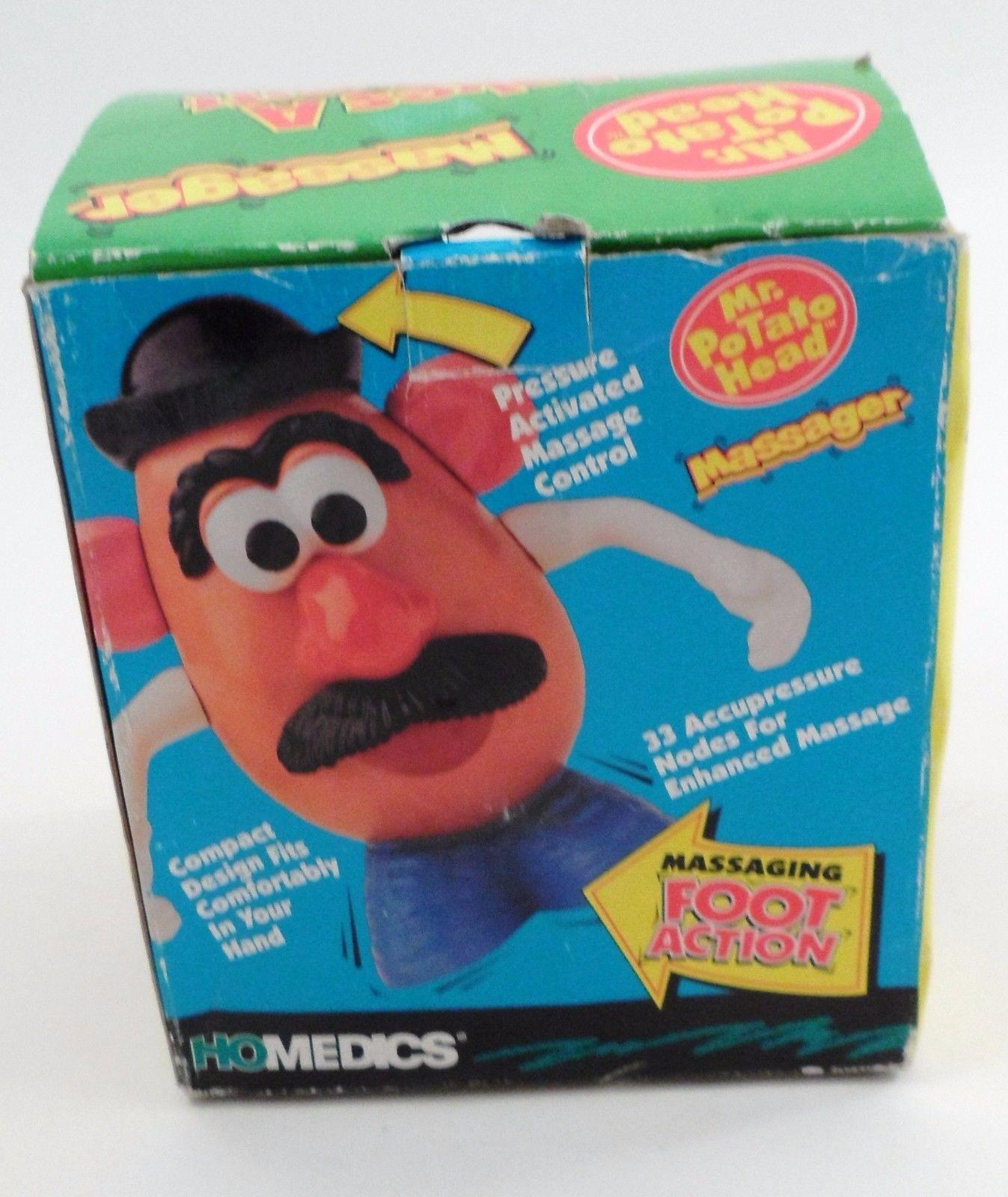 MIB 1996 Homedics Hasbro Toy Story Mr Potato Head Massager Massaging Foot Action