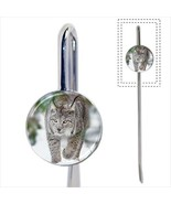 Beautiful Lynx Snow Bookmark - Book Lover Novelty Gifts - $12.62