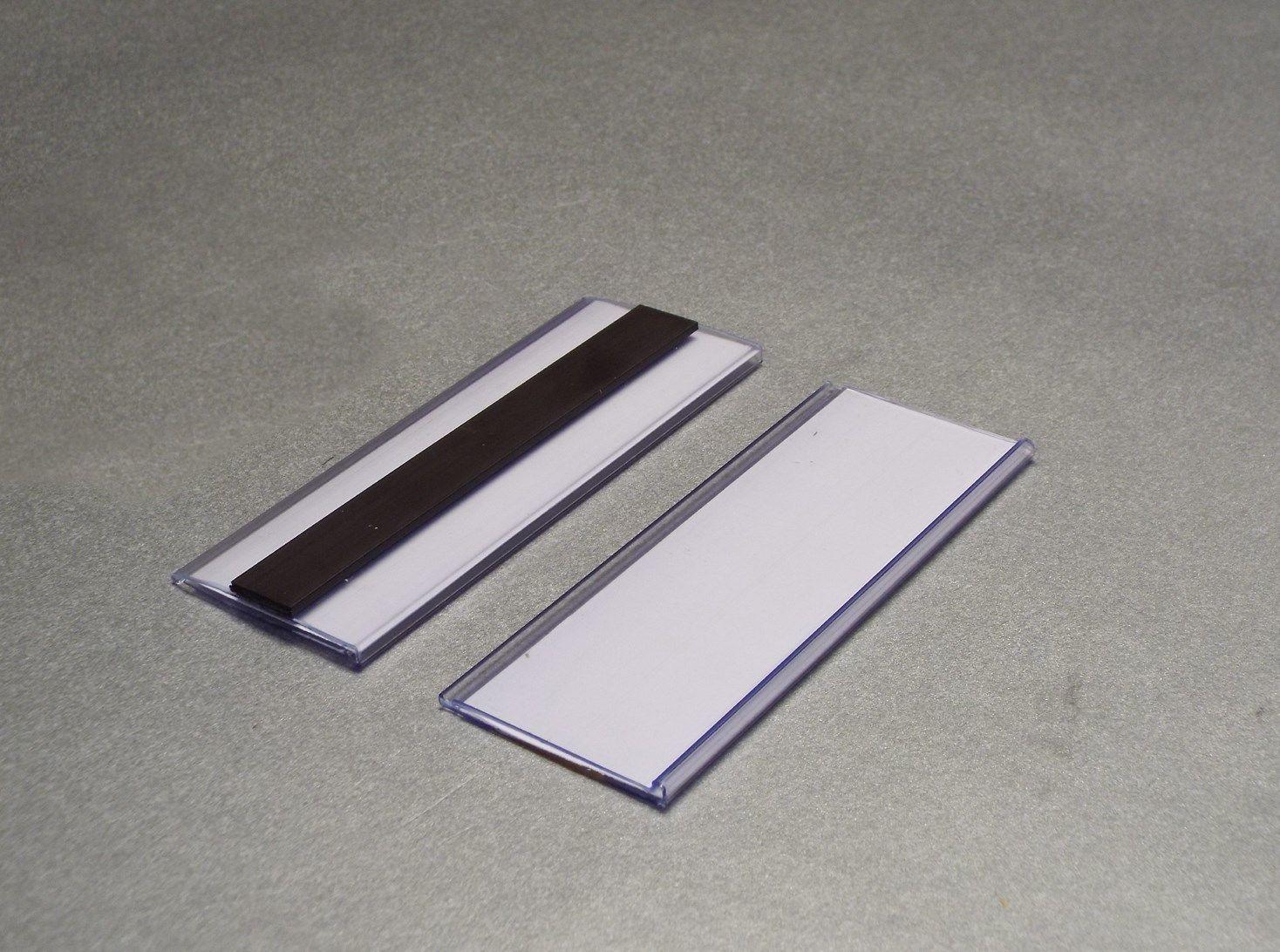 Magnetic Ticket Holders 38mm HIGH EPOS Strips 100mm LONG PK 100