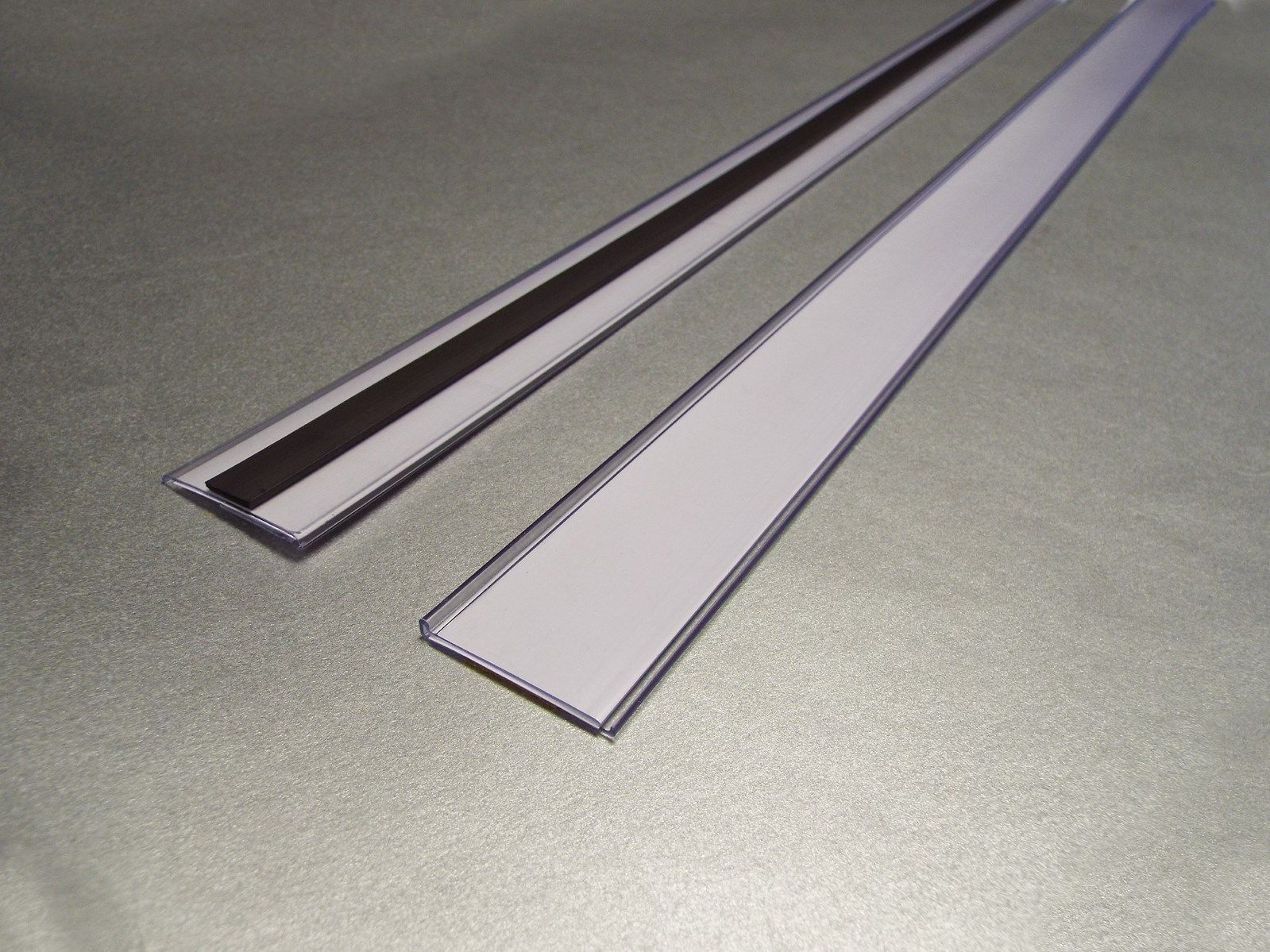 Magnetic Ticket Holders 38mm HIGH EPOS Strips 1M LONG, Pack of 10