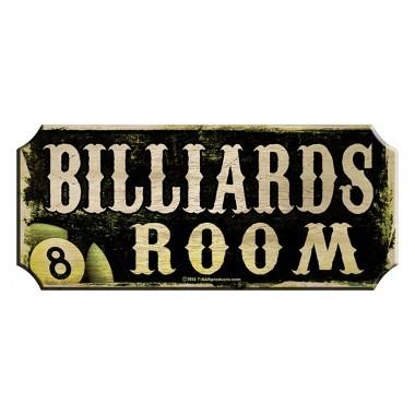 Billiards wood sign1 1