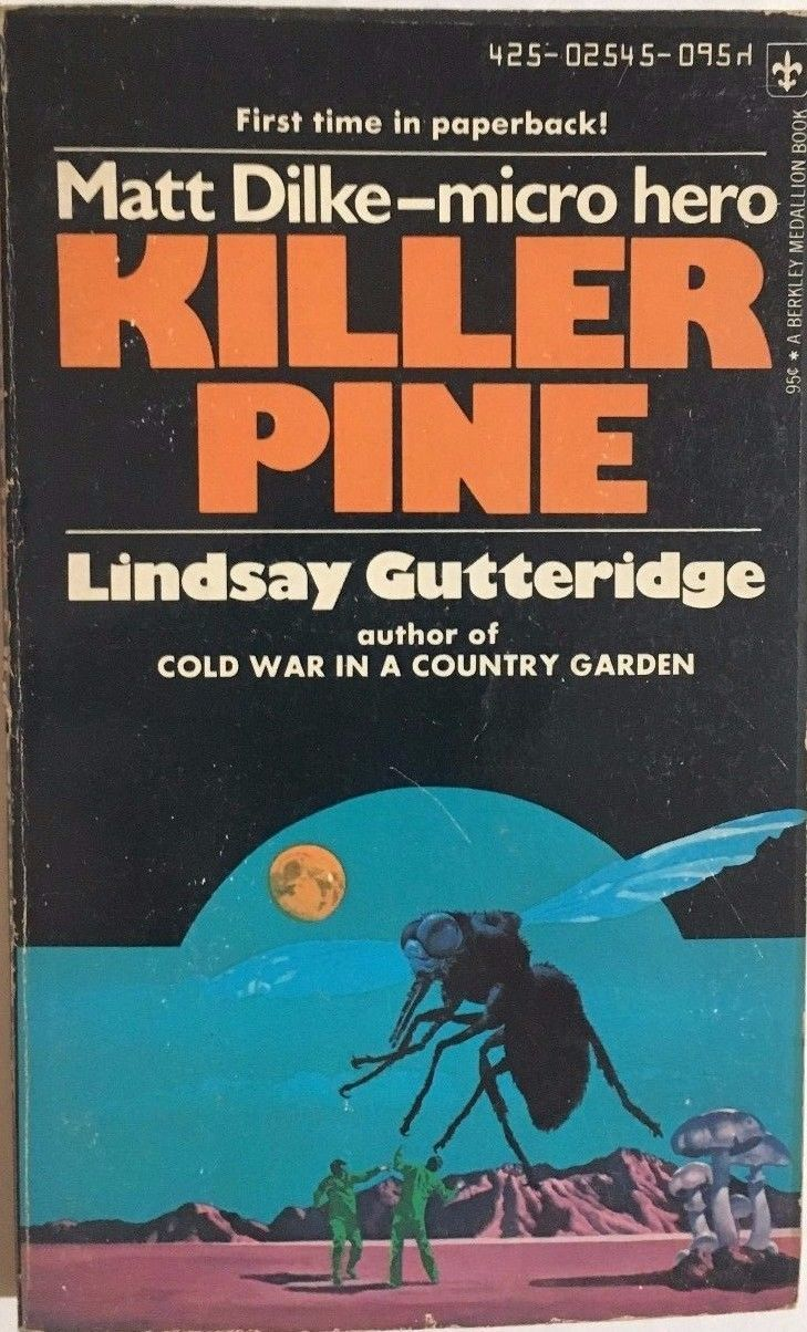 KILLER PINE by Lindsay Gutteridge (1974) Bantam pb
