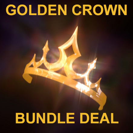 Haunted GOLD CROWN EXCLUSIVE ROYAL BUNDLE MAGICKALS COLLECTION 925 Cassia4