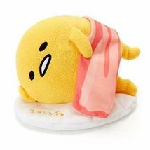 Sanrio Gudetama Talking Sleeping Plush Doll Stuffed Yellow Limited Japan - $65.44