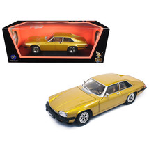 1975 Jaguar XJS Coupe Gold 1/18 Diecast Model Car by Road Signature 9265... - $52.97