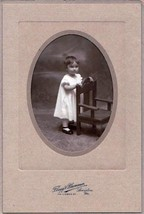 Marion E. Berry Cabinet Photo of Child - Lewiston, Maine - $17.50