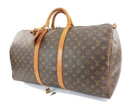 Authentic LOUIS VUITTON Keepall 55 Monogram Canvas Duffel Bag #31792 - $475.00
