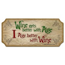 Sign wood wine age better thumb200