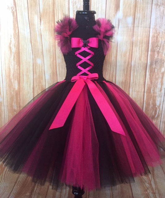 Black   hot pink witch 3