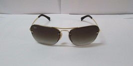 Ray-Ban Sunglasses 3541 001/13 Gold Brown Gradient BRAND NEW & 100% Orig... - £70.30 GBP