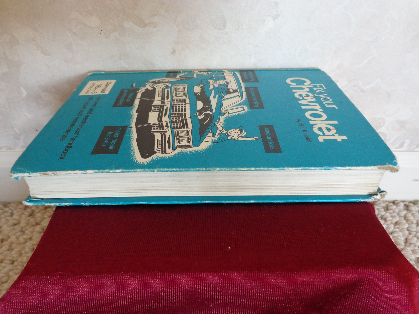 book FIX YOUR CHEVROLET by BILL TOBOLDT (1766) it is for V8 and 6, 1978 to 1968