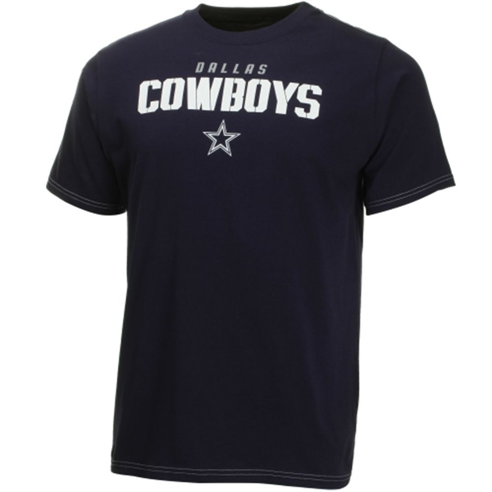 DALLAS COWBOYS AUTHENTIC SPANGLER  T SHIRT LICENSED NFL APPAREL