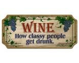 Sign wood wine classy thumb155 crop