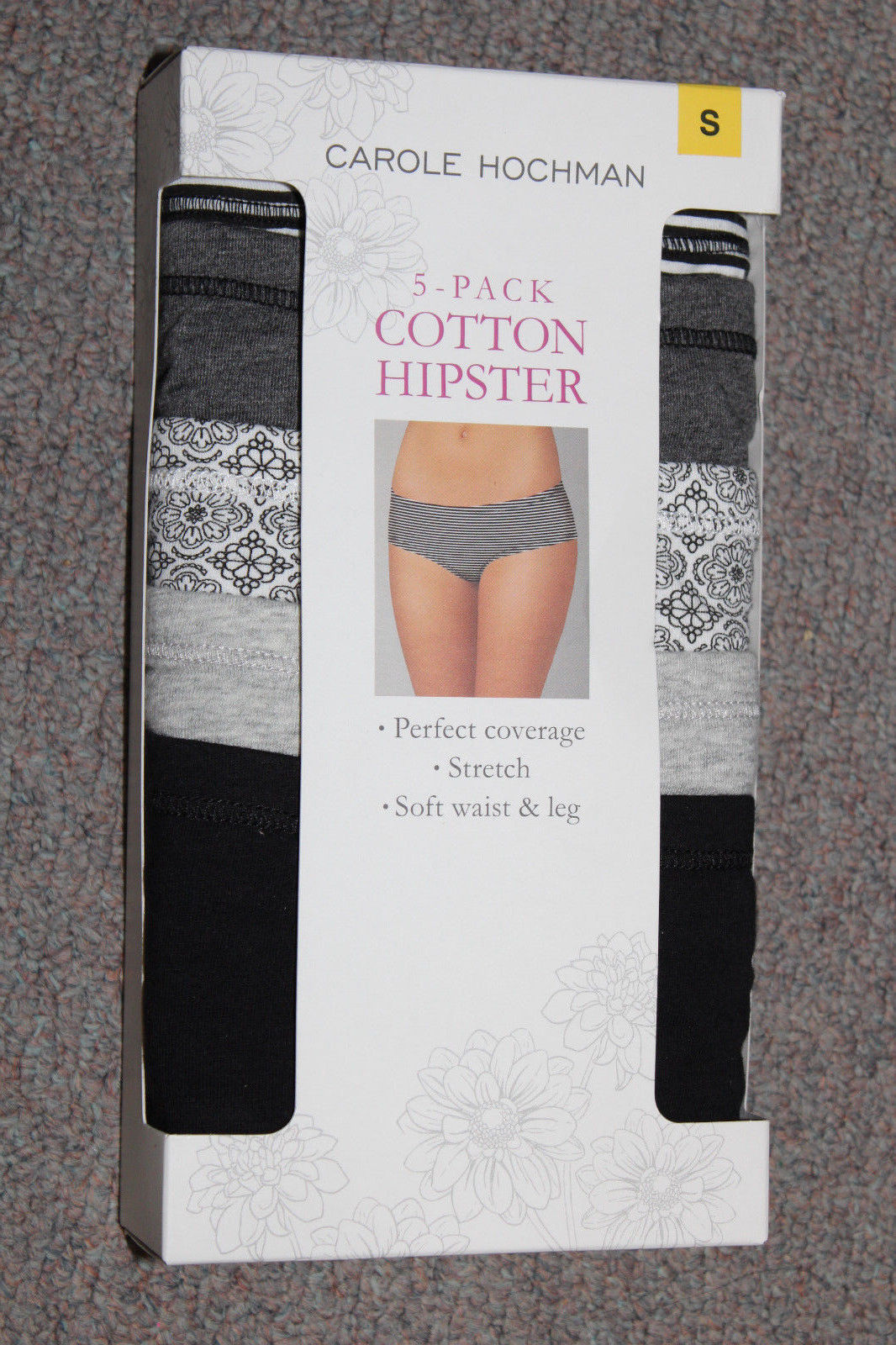 84a99938cc90 NEW Carole Hochman 5-pack Cotton Hipster and 50 similar items