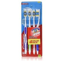 Colgate Extra Clean Full Head Medium 441 Toothbrush Circular Bristles, 4 count - $6.92