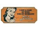 Sign wood wine case husband thumb155 crop