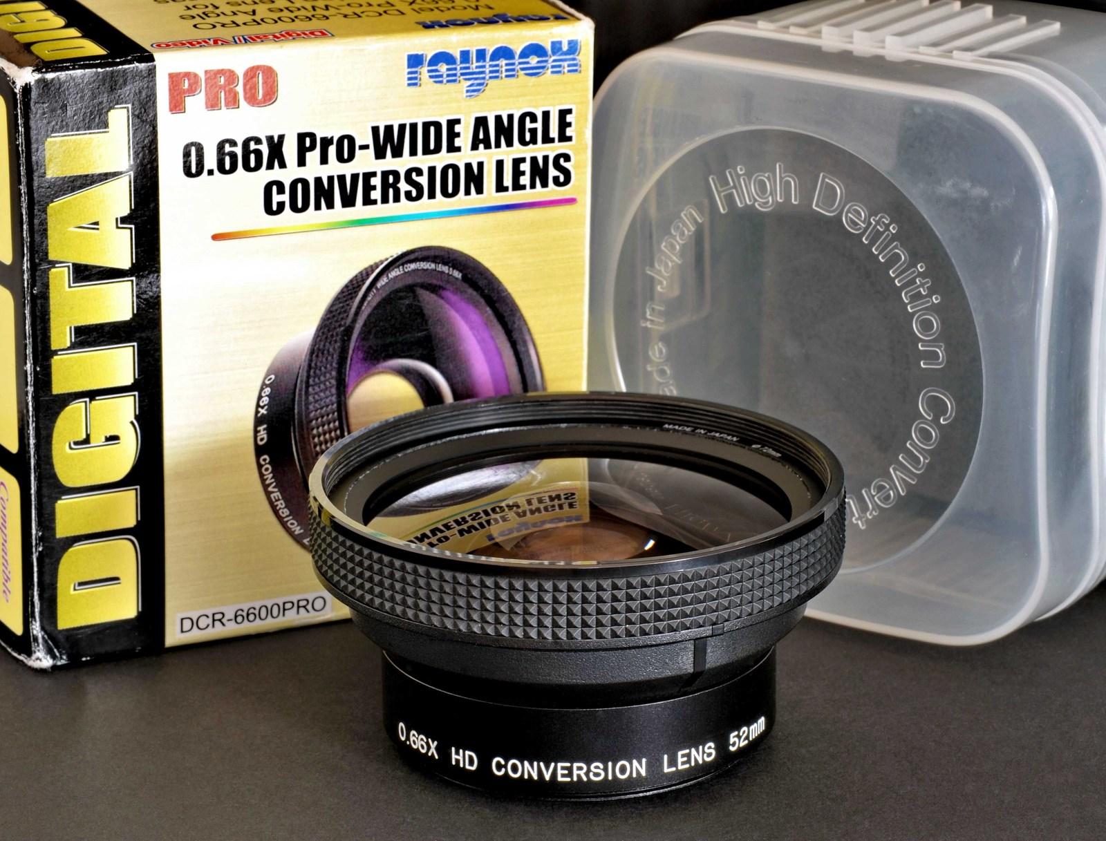 Raynox digital pro 0.66x pro wide angle conversion lens.1.sf