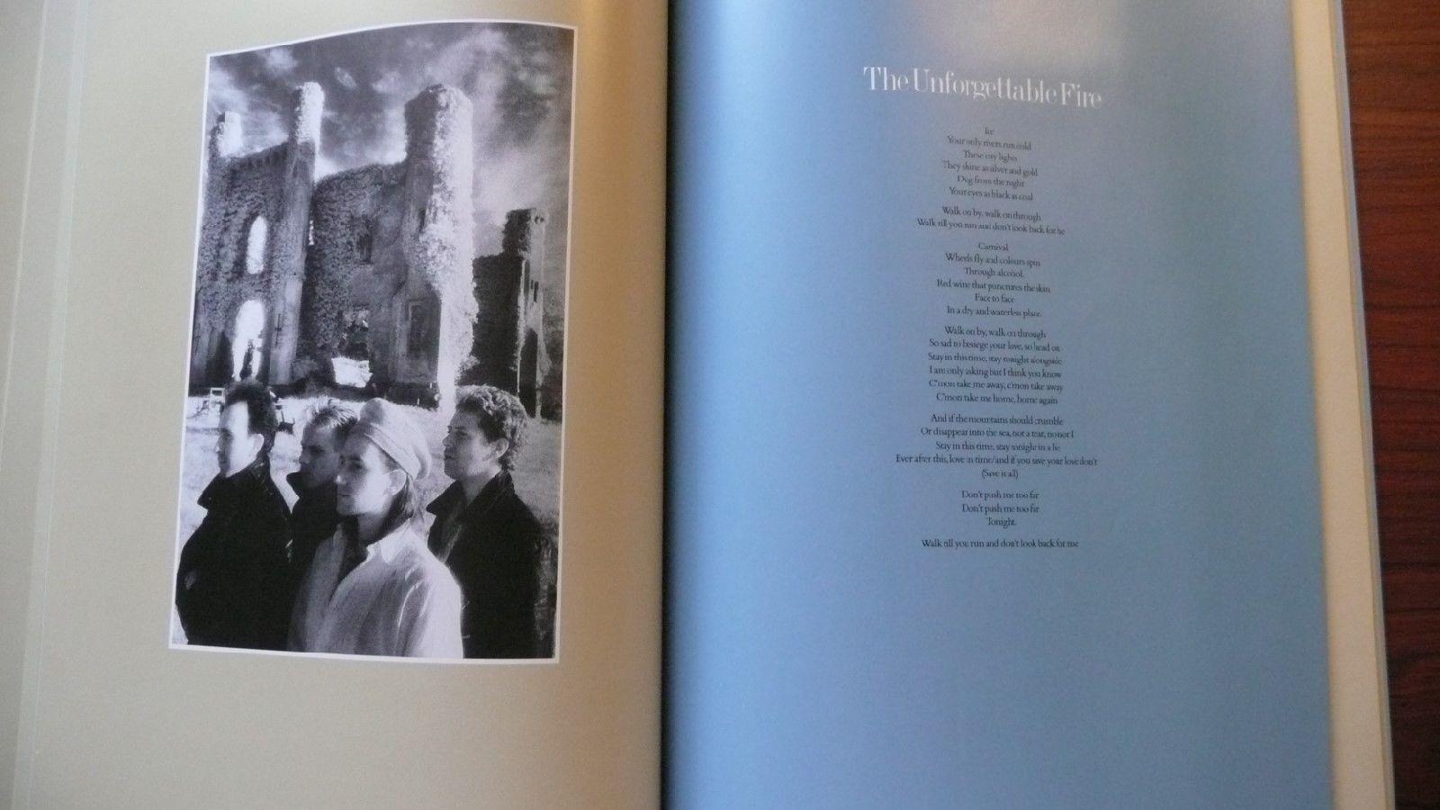 U2 Songbook 17 Song Portfolio Great Photos L@@K Excellent Condition FREE SHIP
