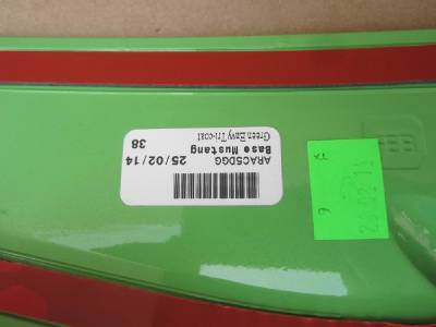 2010-2014 OEM Ford Mustang GT Rear Trunk Spoiler Lip Factory Paint Green Envy