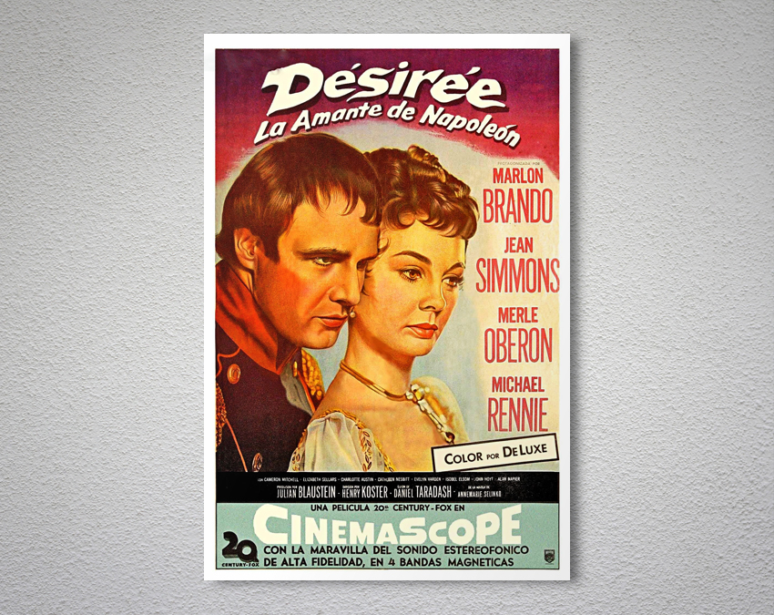 Desiree Vintage Movie Poster -  Poster Paper, Sticker or Canvas Print for sale  USA
