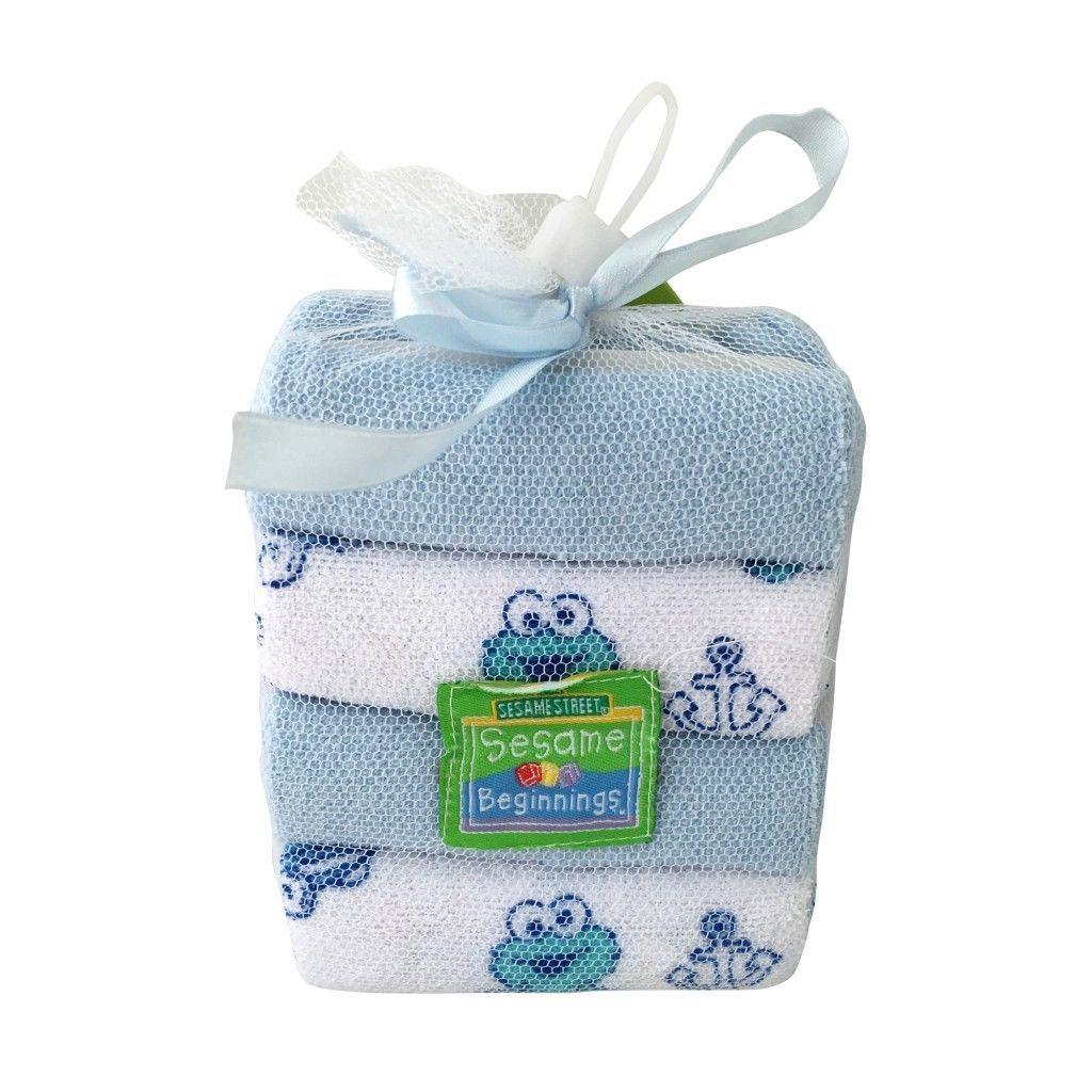 Sesame Street Newborn Gift Basket For Boys