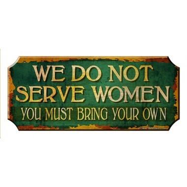 Serve women sign1