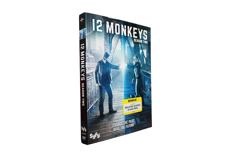 12 Monkeys The Complete Second Season Two 2 DVD Box Set 3 Disc Free Shipping