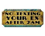 Text the ex wood bar sign1 thumb155 crop