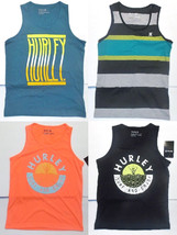 Hurley Youth Boys Tank Tops Muscle Shirt Various Colors and Sizes 4-16  ... - $10.39