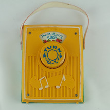 "1970 Fisher Price ""The Mulberry Bush"" Pocket Radio: Vintage Baby Kids Toy - $23.33"