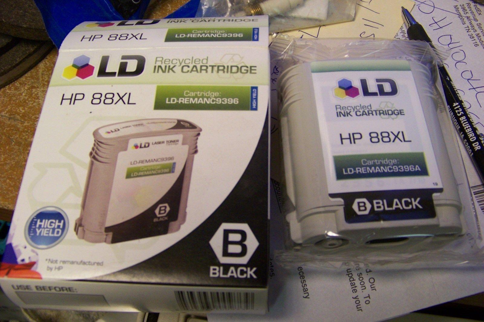 LD Remanufactured Replacement Ink Cartridge 4 Hewlett Packard C9396AN (HP 88XL)