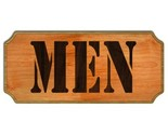 Men wood restroom sign thumb155 crop