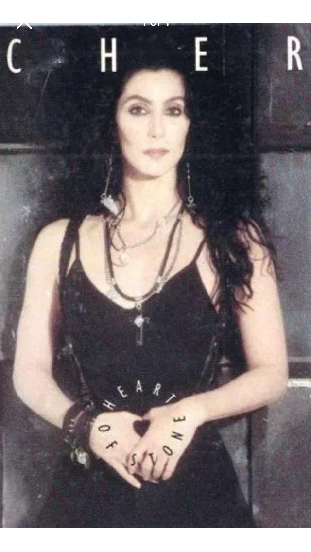 Cher heart of stone cassette tape