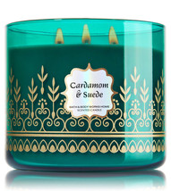Bath & Body Works CARDAMOM & SUEDE Scented Candle, 14.5 oz/ 411 g - $50.00