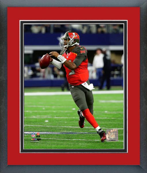 Jameis Winston Tampa Bay Bucineers QB Action - 11x14 Matted/Framed Photo