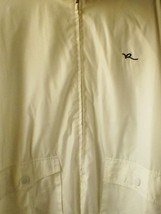 ROCAWEAR ALL WHITE WINDBREAKER FULL ZIPPER - $32.45