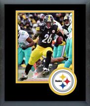 Le'Veon Bell Steelers 2016 AFC Wild Card -11x14 Team Logo Matted/Framed Photo  - $42.95