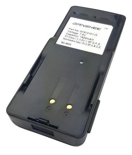 GE Ericsson EDACS 300P Two Way Radio 7.5V 1500 mAh NiMH Battery 18 Mo. Warranty