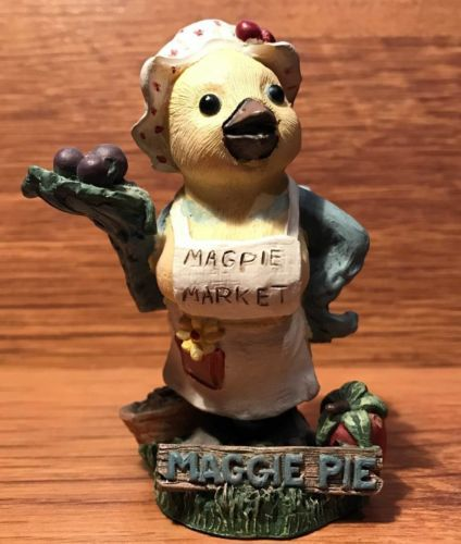 Maggie Pie MagPie Market  Fresh Picked for You Figurine - 1996
