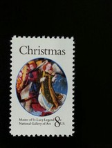 1972 8c Christmas Angels, Master of St. Lucy Legend Scott 1471 Mint F/VF NH - $0.99