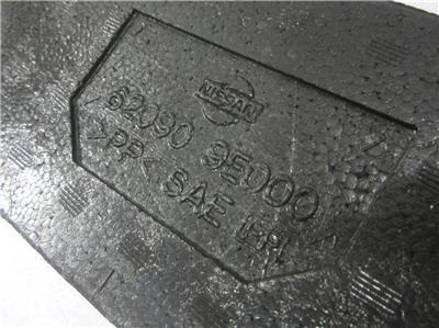 OEM 1998 1999 Nissan Altima Front Bumper Impact Absorber Reinforcement Foam