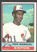 Montreal Expos Pepe Mangual 1976 Topps Baseball Card 164 ex/em - $0.50