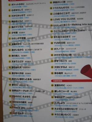 DORAEMON Book of Fujiko Fujio - 'the movie songs' Piano Sheet Music Book