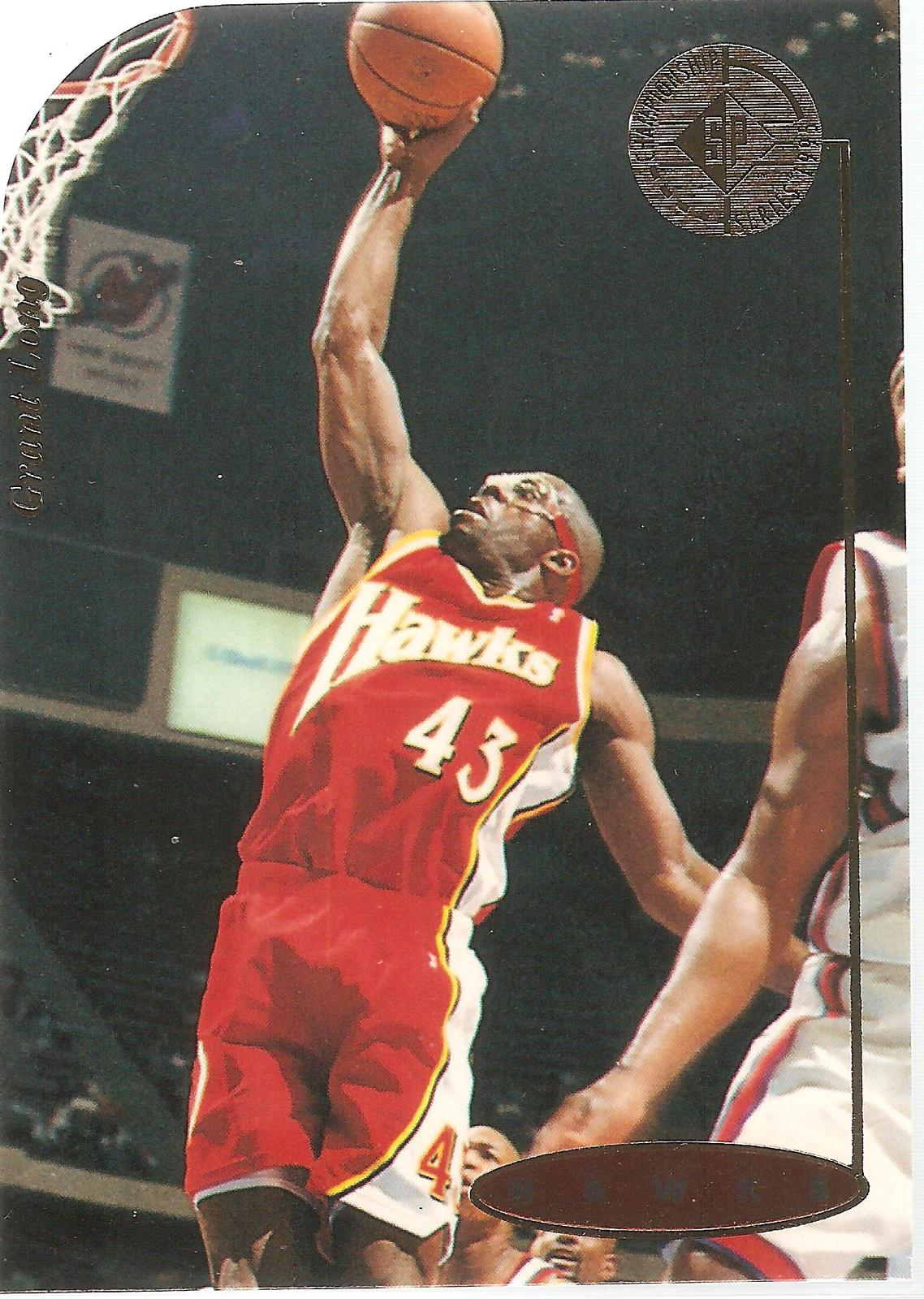 Grant Long Sp Championship 94-95 #30 Die-Cut Atlanta Hawks Miami Heat Boston