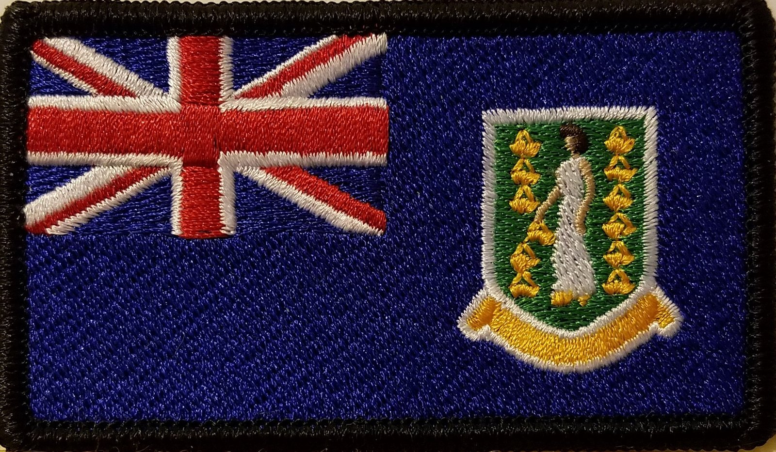 "[Single Count] Custom and Unique (3 1/2 "" x 2 "" Inches) British Virgin Island..."