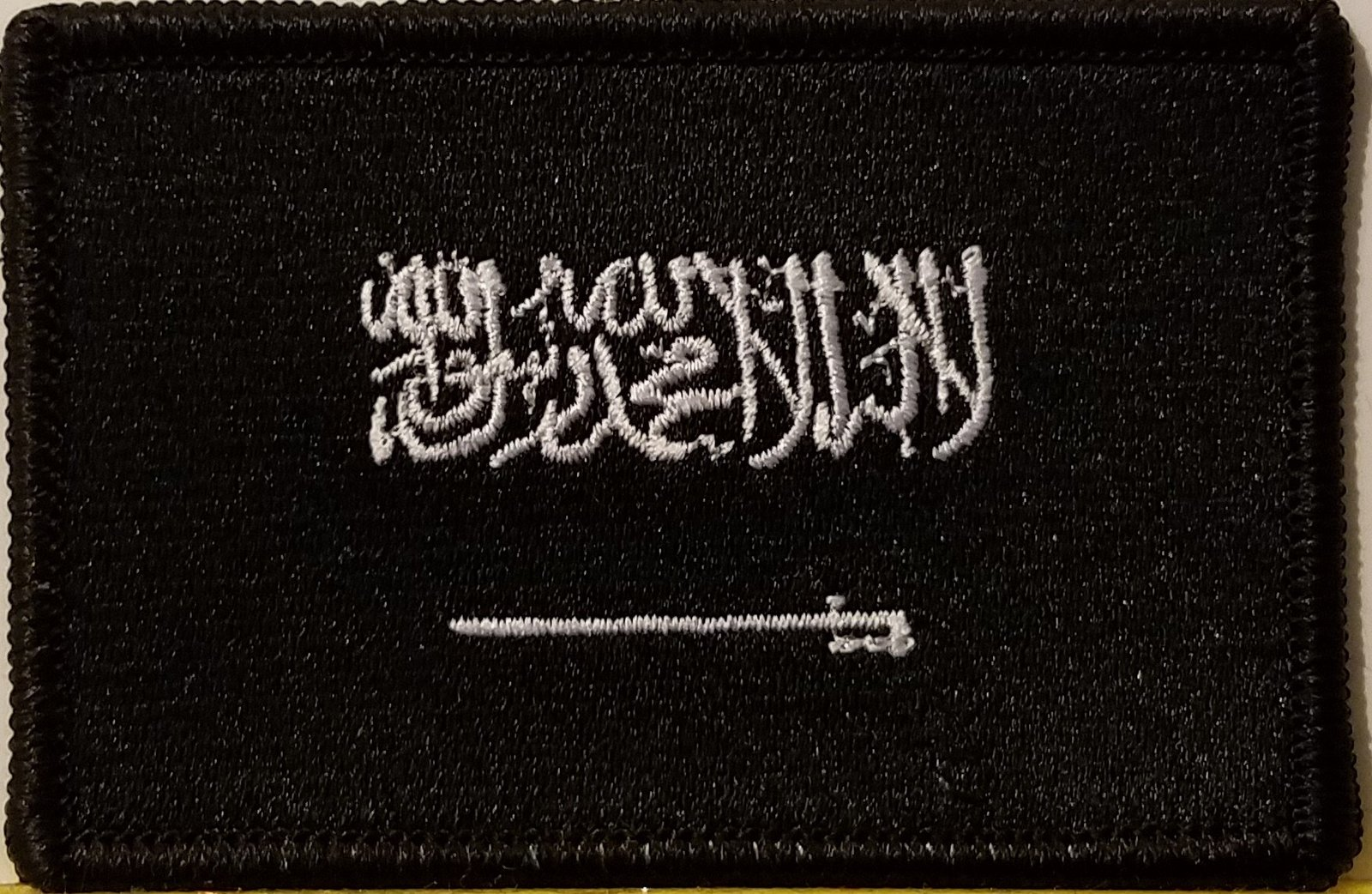 "[Single Count] Custom and Unique (3 1/2 "" x 2 1/4"" Inches) SAUDI ARABIA FLAG ..."