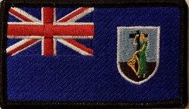 "[Single Count] Custom and Unique (3 1/2 "" x 2 "" Inches) Montserrat FLAG Recta... - $5.93"