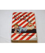 Candy Kane by Janet Lambert 1943 Hardback book dust jacket red white str... - $49.49