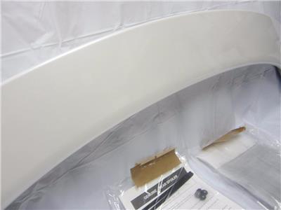 OEM 2009-2012 Mazda 6 Rear Spoiler lip Wing W/LED Brake Light White Platinum 41M